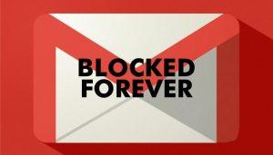 مسدود کردن ایمیل های مزاحم