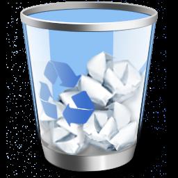 آیکن سطل زباله ی خود را تغییر دهید
